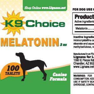 K9 Choice Melatonin 3mg For Dogs