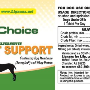 K9 Choice Joint Support Glucose Alternative