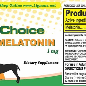 K9 Choice Melatonin 1mg For Dogs