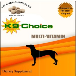 K9 Choice Multivitamins For Dogs