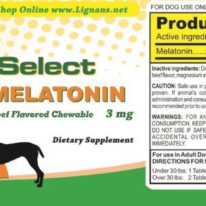 K9 Choice Melatonin 3mg For Dogs
