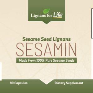 Sesamin (Sesame Seed Lignans)